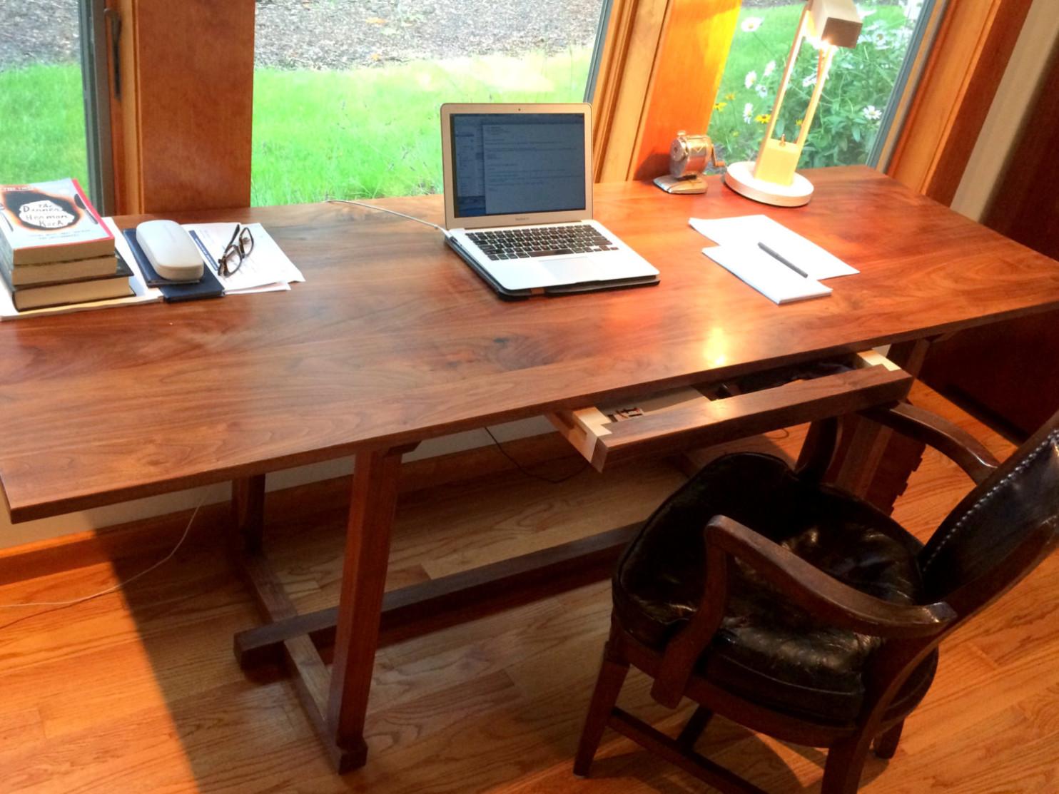 Handmade Wood Desk